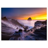 Cody York 12-Inch x 18-Inch Cape Kiwanda in Oregon Canvas Wall Art