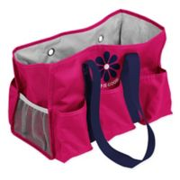 """""""Life is Good"""" Junior Caddy Tote in Pink"""