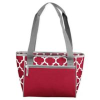 16-Can Cooler Tote in Cardinal