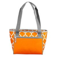 16-Can Cooler Tote in Tangerine