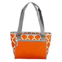 16-Can Cooler Tote in Orange
