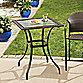 Stratford Wicker and Glass Balcony Table
