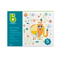 Babyganics® 58-Count Size 5 Ultra Absorbent Diapers