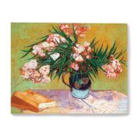 ArtWall Oleander 10-Inch x 8-Inch Canvas Wall Art