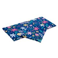 Tranquilo™ Large Soothing Mat Flower Power Slipcover in Blue