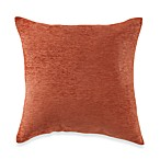 Crown Chenille Throw Pillow in Rust (Set of 2)