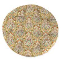 Print Indoor/Outdoor Papasan Chair Cushion in Avaco Sunset