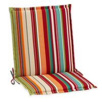Stripe Indoor/Outdoor Folding Sling Chair Cushion in Tahoe
