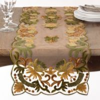 Saro Lifestyle Alessandra 72-Inch Table Runner in Green