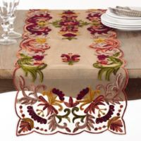 Saro Lifestyle Alessandra 72-Inch Multicolored Table Runner