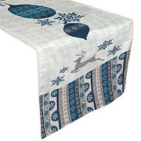 Laural Home® Simply Winter 72-Inch Table Runner in Blue