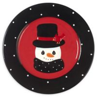 Precious Moments® Holiday Snowman Dessert Plate (Set of 4)