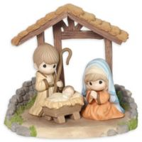 Precious Moments® 4-Piece Holy Family Nativity Figurine Set