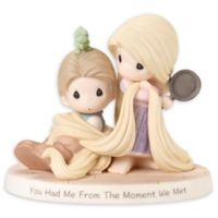Precious Moments® Disney® Rapunzel and Flynn Rider Figurine
