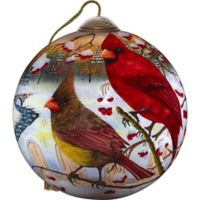 Precious Moments® White Crimson Morning Christmas Ornament