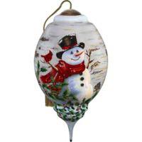 Precious Moments® Winter Birch Snowman Christmas Ornament