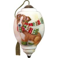 Precious Moments® Winter Pup Christmas Ornament