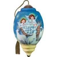 Precious Moments® Ne'Qwa Peace on Earth 2.01-Inch Glass Ornament