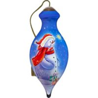 Precious Moments® Ne'Qwa Thinking of You This Christmas 1.96-Inch Glass Ornament