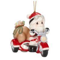 Precious Moments® Santa On Motorcycle Ornament