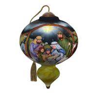 Precious Moments® Ne'Qwa Art® O Come Let Us Adore Him Ornament