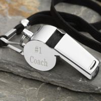 #1 Coach Personalized Whistle