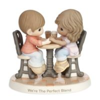 Precious Moments® Couple at Cafe Table Figurine