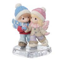 Precious Moments® Couple Ice Skating Figurine