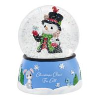 Precious Moments® Holiday Snowman Water Globe