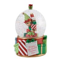 Precious Moments® Holiday Elf Water Globe
