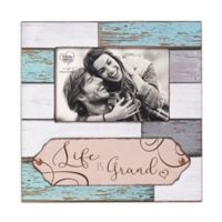 Precious Moments® Life is Grand 4-Inch x 6-Inch Wood Picture Frame