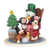 Precious Moments® Holiday Disney Scrooge and Cratchit Children Figurine