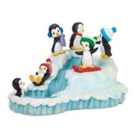 Precious Moments® Holiday Winter Fun Musical Penguins
