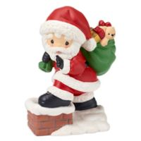 Precious Moments® Holiday Santa Figurine