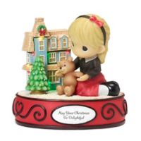 Precious Moments® May Your Christmas Be Delightful Musical LED Figurine