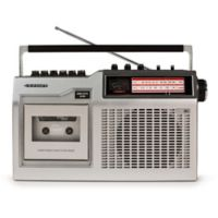 Crosley CT200 Cassette Player in Silver