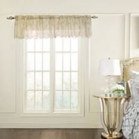 Commonwealth Home Fashions Columbus Tailored Window Valance in Beige