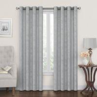Tucker 84-Inch Grommet Window Curtain Panel in Grey
