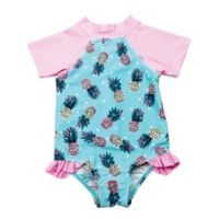 Floatimini Size 18M 1-Piece Pineapples Rashsuit