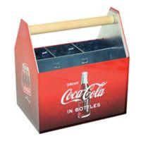 Coca-Cola® Galvanized Utensil Caddy