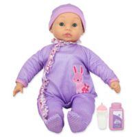 New Adventures Little Darlings Cuddle Baby in Purple