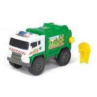 Dickie Toys Light & Sound Motorized Garbage Truck Vehicle