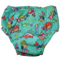 Swim Time Size 12-18M Mermaid Party Reusable Swim Diaper
