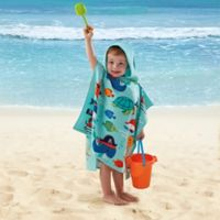 Under Sea Pirate Kids Hooded Towel