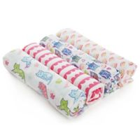 aden® by aden + anais® 4-Pack Owl Muslin Swaddle Blankets