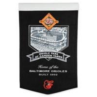 MLB Baltimore Orioles Stadium Evolution Banner