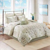 South Bay 8-Piece Queen Comforter Set in Khaki