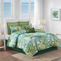 Malibu Crest 8-Piece Queen Comforter Set in Sage