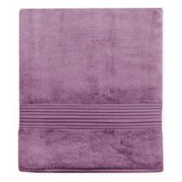 Turkish Modal Bath Sheet in Plum