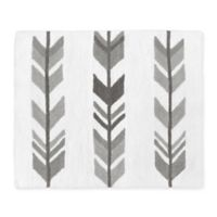 """Sweet Jojo Designs® 30"""" X 36"""" Tufted Accent Rug in White/grey"""